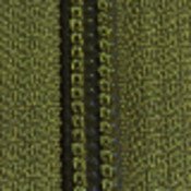 Military Zipper-By-The-Yard