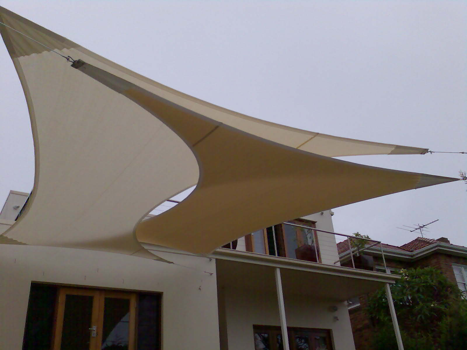 Sun awnings and canopies