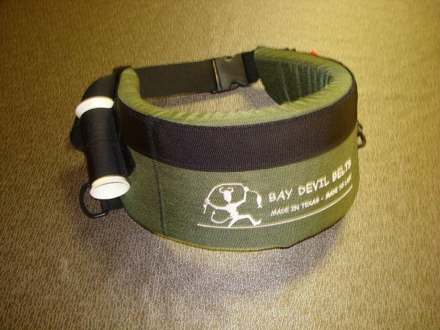 Custom wade fishing belts for Wade fishing belt