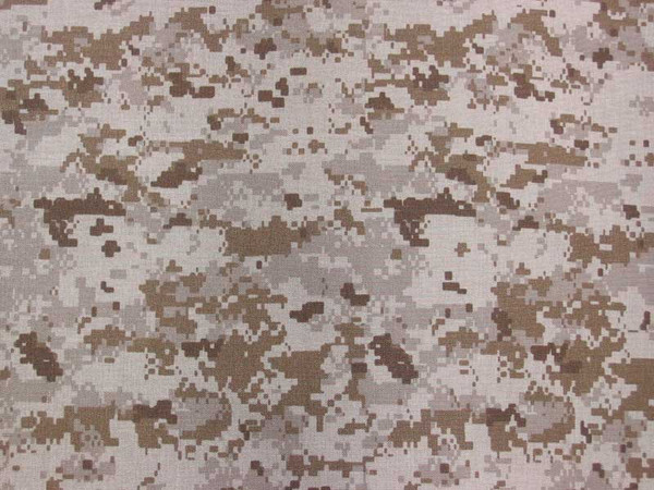 363e18bc8bcda 3-Layer Waterproof Breathable 2-Way Stretch Nylon Camouflage Fabric - Desert  MARPAT (Sold per Yard)