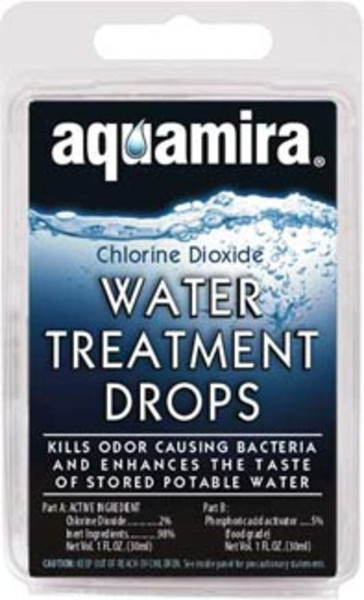 Water treatment drops