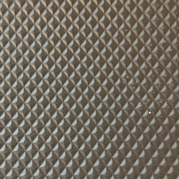 Diamond Embossed Heavy Vinyl Fabric With Cotton Rayon Backing