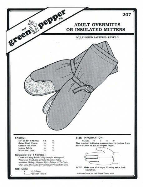 Glove and Mittens Sewing Patterns
