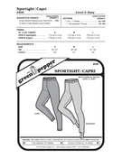Adult's Sport Tights Sewing Pattern