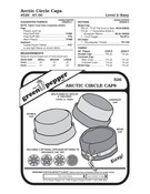 Arctic Circle Caps Sewing Pattern