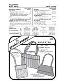 Bag-Etts Sewing Pattern