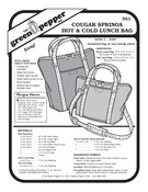 GP-Cougar Springs Lunch Bag Pattern