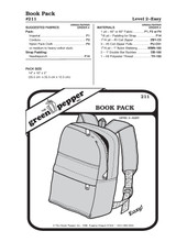 Day Pack (Book Pack) Sewing Pattern