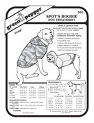 GP-Dog Sweatshirt Pattern