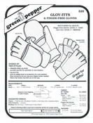 Glov-Itts & Finger-Free Gloves Sewing Pattern