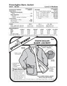 Frenchglen Barn Jacket Sewing Pattern