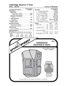 Hunter's Vest Sewing Pattern