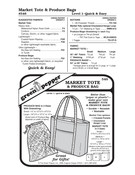 GP-Market Tote & Produce Bag Pattern