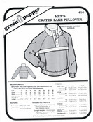 GP-Men Crater Lake Pullover Pattern