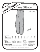 Men's Wind & Rain Pants Sewing Pattern