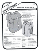 Pioneer Rucksack Sewing Pattern