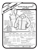 Plush Polar Jacket & Vest Sewing Pattern