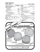 Polar Beanies Sewing Pattern