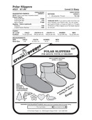GP-Polar Slippers Pattern