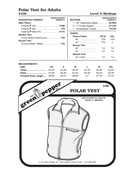 Polar Vest Sewing Pattern