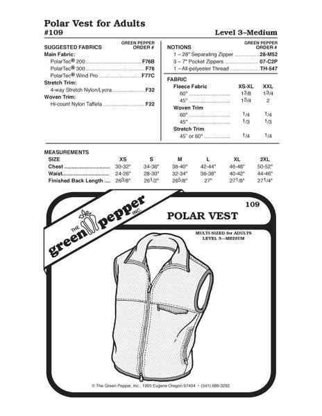 Vest Sewing Patterns