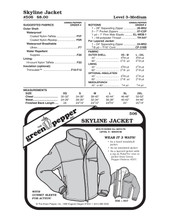 GP-Skyline Jacket Pattern
