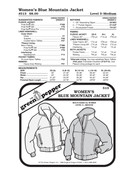 GP-Women Blue Mountain Jacket Pattern