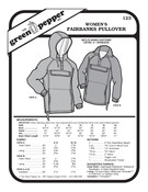 Women's Fairbanks Pullover Sewing Pattern